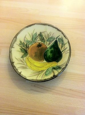 PUIGDEMONT ?? majolica faience  FRUIT PLATE