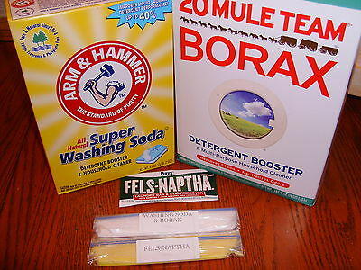 1 Gallon Homemade Laundry Detergent Soap Kit