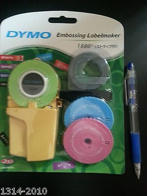Dymo Embossing Labelmaker #1880 with 1 dymo tape & 2 template