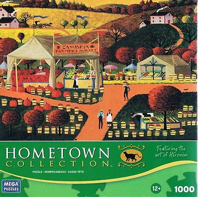 "Wysocki Hometown Collection /""Castle Drive/"" 1000 pc 27/"" x 19/"" Mega"
