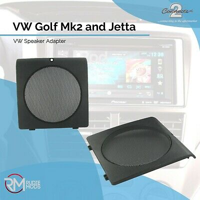 VW Golf Mk2 and Jetta Replacement front door speaker grilles 1 pair OEM style