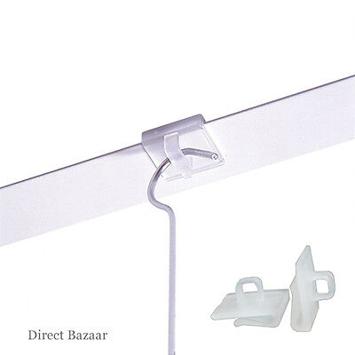 20 x Suspended Ceiling Clips Hangers, Plastic clips