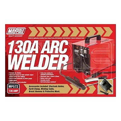 Maypole 572 130A Arc Welder and Accessories