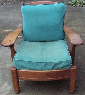 Antique Frank S Harden Wooden Chair