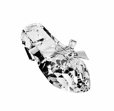 Crystal Ballet Shoe Ornament Home Decor Gift 10cms BRAND NEW