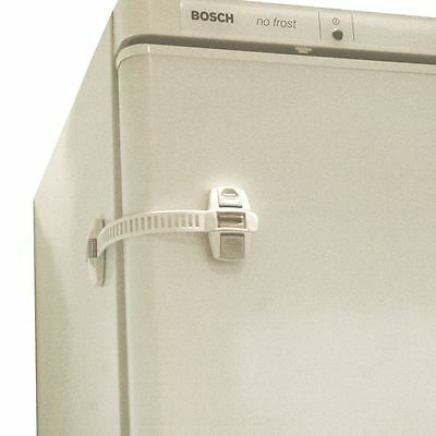 Safetots Refrigerator and Freezer Lock - Babyproof Kitchen - Packs of 1 & 2