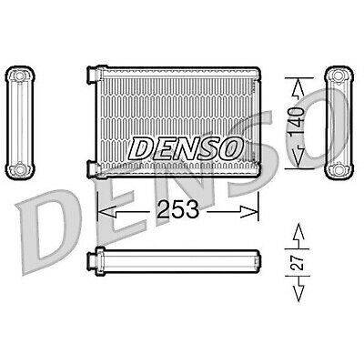 DENSO Heater Core Element - DRR05005 - Interior Heating - Genuine OE Part
