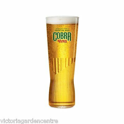 Cobra Lager One Pint Glass - New Design - Bar/Home/Collectable
