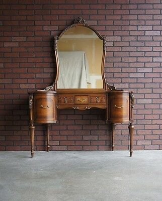 Vanity / Desk / Antique Vanity by Widdicomb ~ Paint To Order