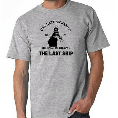 Sons of Gotham Last Ship Find The Cure Junior T-Shirt Navy