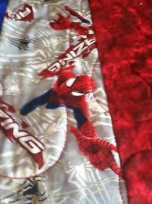 Spiderman Quilt!  Full size or Queen!
