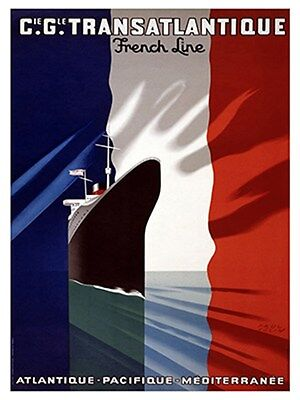 """Art France Travel Poster French Vintage Rare Hot New 12x18"""" TR137"""