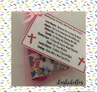 Godmother Survival Kit - Novelty Godparent Christening Gift