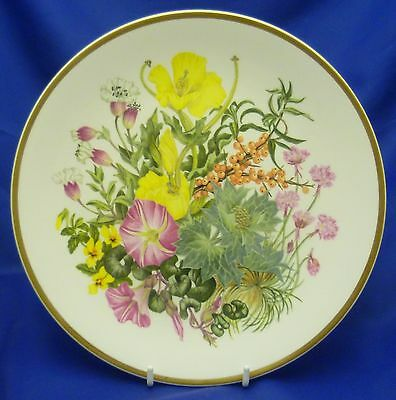 A CAVERSWALL/SPINK WILDFLOWERS COLLECTOR PLATE NO.6 - CLIFF & SEASHORE