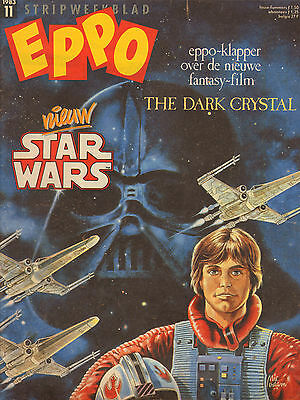 STRIPWEEKBLAD EPPO 1983 nr. 11 - STAR WARS (COVER) / THE DARK CHRYSTAL / COMICS