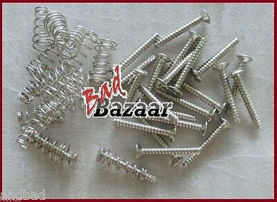 Set Spring + Screw For Single Coil Pick Up