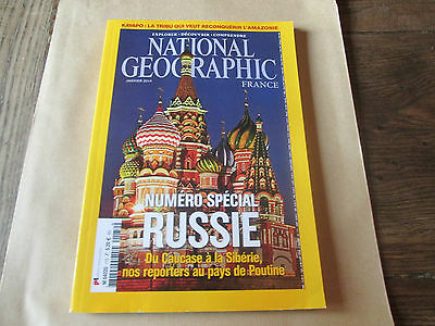 """national geographic 172 """" numero special RUSSIE  """"...."""