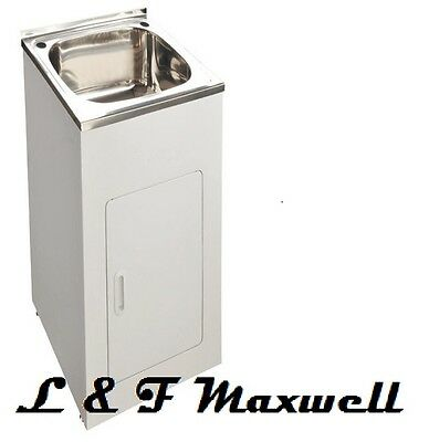 Compact Laundry Sink : High Grade Stainless Steel Compact Laundry Tub - 35L