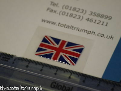 GENUINE Triumph Motorcycles Union Flag Jack Sticker Badge Decal NEW
