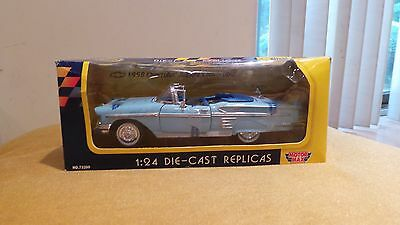 Die-cast replica's 1958 chevrolet impala convertable collecter's edition model