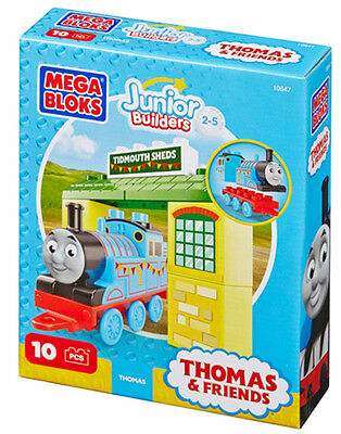 Mega Bloks - Junior Builders Thomas & Friends - Thomas with Tibmouth Sheds