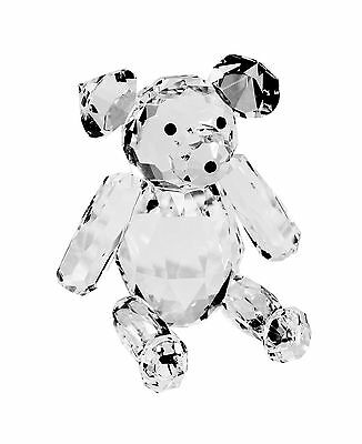 Crystal Teddy Bear Ornament 10cms. BRAND NEW.