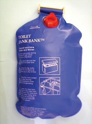 Toilet Tank Bank | Cistern Displacement Device