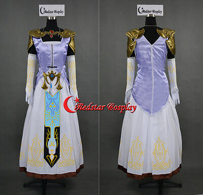 The Legend of Zelda Princess Zelda Cosplay Costume made in any size