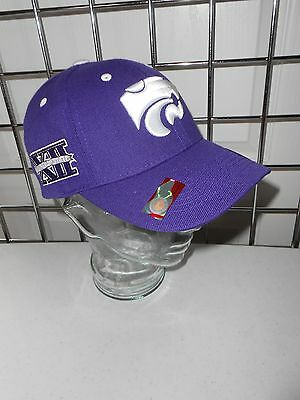 NCAA Kansas State University Hat by Top of The World NWT, ONE SIZE