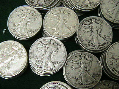 "Walking Liberty Half Dollars 1916-1947 ""Best on EBAY!"". Get ONE FREE!!***"