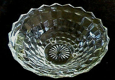 Colony Glass Company 3-footed Serving Bowl Whitehall pattern - Clear Vegetable