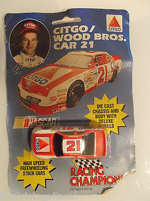 Toy Car NASCAR Model Citgo Die Cast Metal Race Auto Racing Champions #21 3""