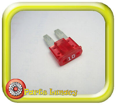 FUSE Mirco2 Style 9mm 10 Amp Red FOR Late Model FORD