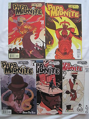 "Constantine / Hellblazer Special : ""papa Midnite"" :complete 5 Issue Series.2005"