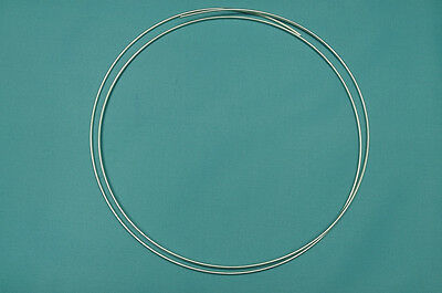 """10 Gauge 20"""" Certified 9999 Pure Silver Wire"""