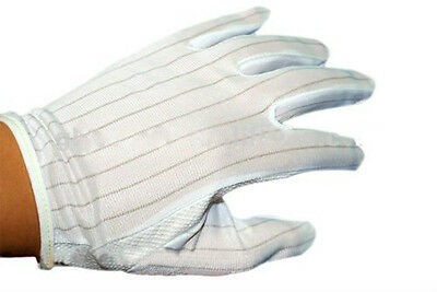 1 Pair Anti Static ESD Safe Universal Size Gloves UK Stock