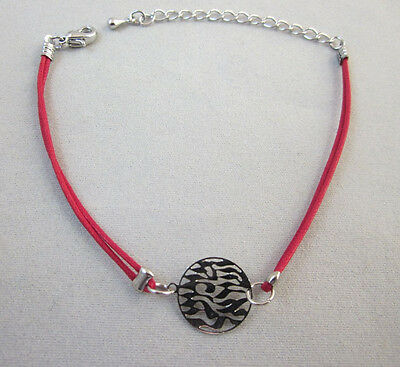 Red String Shema Israel Bracelet Extension chain