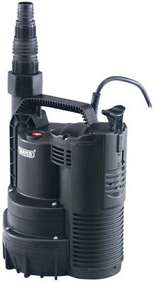 Draper  120l/min 300w 230v submersible water pump with integral float switch