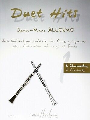 Duet hits - Allerme Jean-Marc - 2 Clarinettes