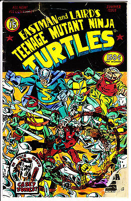Mirage Studios Comics TEENAGE MUTANT NINJA TURTLES 1988 #15 VF to VF+