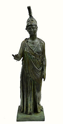 Athena Piraeus Goddess of Wisdom Great bronze Pallas sculpture statue artifact