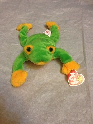 Smoochy The Frog With Commemorative Card!