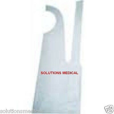 Apron Disposable Pe Water Proof White X 500