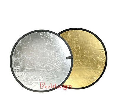2in1 110CM 43 inches Collapsible Multi Disc Photograph Studio Light Reflector