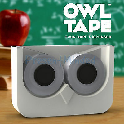 Owl Tape Double Sticky Tape Dispenser Great Office Desk Gift Idea