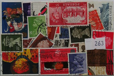 Great Britain. 50 stamps, all different (263)