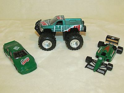 3 PC. MOUNTAIN DEW CARS AND TRUCK