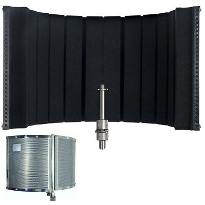 New CAD Audio AS22 Stand Mounted Acoustic Enclosure For Microphone