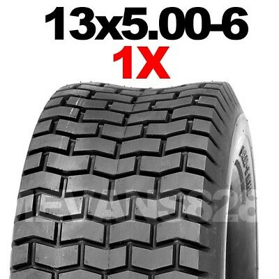 13x5.00-6 Tyre for Ride on lawn mowers. Lawn Turf Grass Garden Tire 13 x 500 - 6
