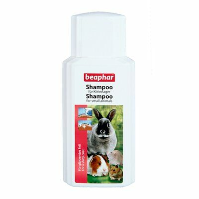 Beaphar Shampoo for rodents and Small mammals 200 ml Hamster Bunny Chinchilla